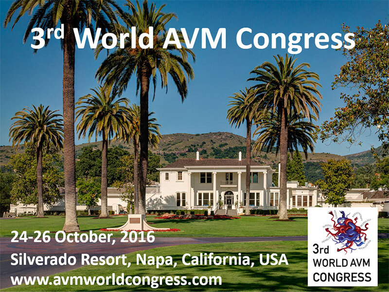 3rd World AVM Congress, Napa, CA, USA