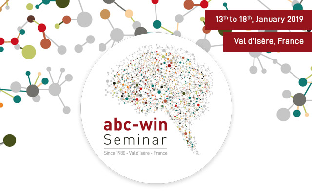ABC-WIN Seminar 2019 - 13-18 January, 2019, Val d'Isère, France